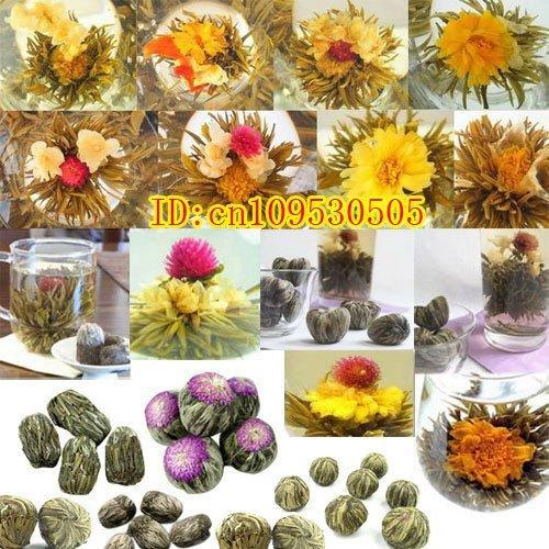 Beautiful And Enjoyable 12 Types Gift Blooming Tea * 12 Blooms * Tea Ball Health Care Skin Food