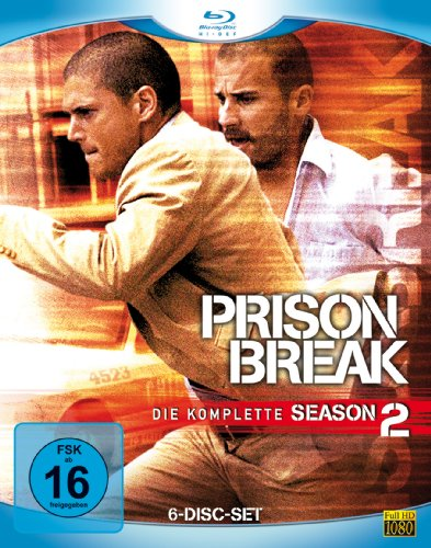 Prison Break - Season 2 [Blu-ray]