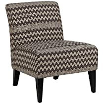 Dale Chevron Stripes Armless Chair