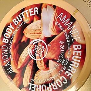 The Body Shop Body Butter, Almond, 6.75 Ounce