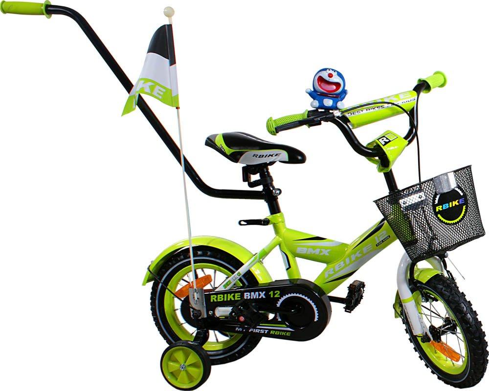 Bicicleta para aprender a montar los niños