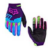 ShiningLove Full Finger Cycling Gloves Outdoor Sports Anti Skid Wear Resistance Breathable Gloves Unisex Racing Motorcycle MTB Bike Gloves Purple S (Color: Purple, Tamaño: Small)