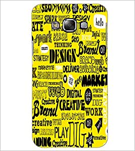 Printdhaba Typography D-5504 Back Case Cover For Samsung Galaxy A7
