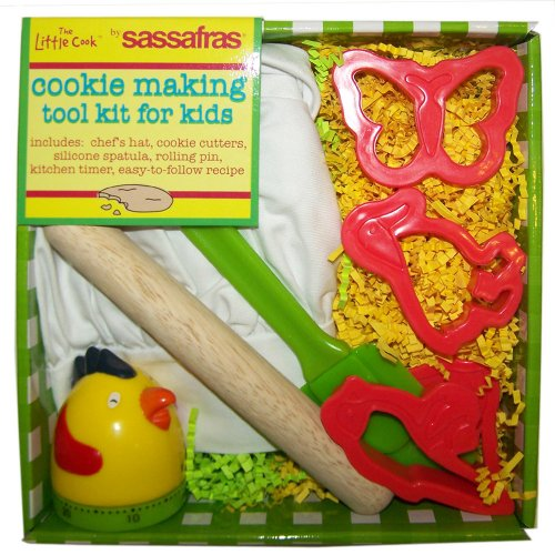 The Little Cook / Child's 8-piece Cookie Making Tool Kit
