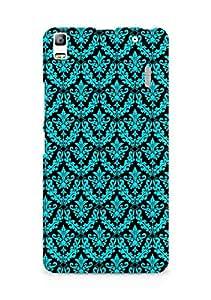 Amez designer printed 3d premium high quality back case cover for Lenovo K3 Note (pattern blue black )