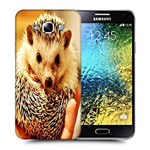 Snoogg Cute Animal Printed Protective Phone Back Case Cover ForSamsung Galaxy E5