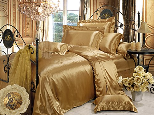 BRING A NEW LOOK TO YOUR BEDROOM WITH SILK BEDDING SETS