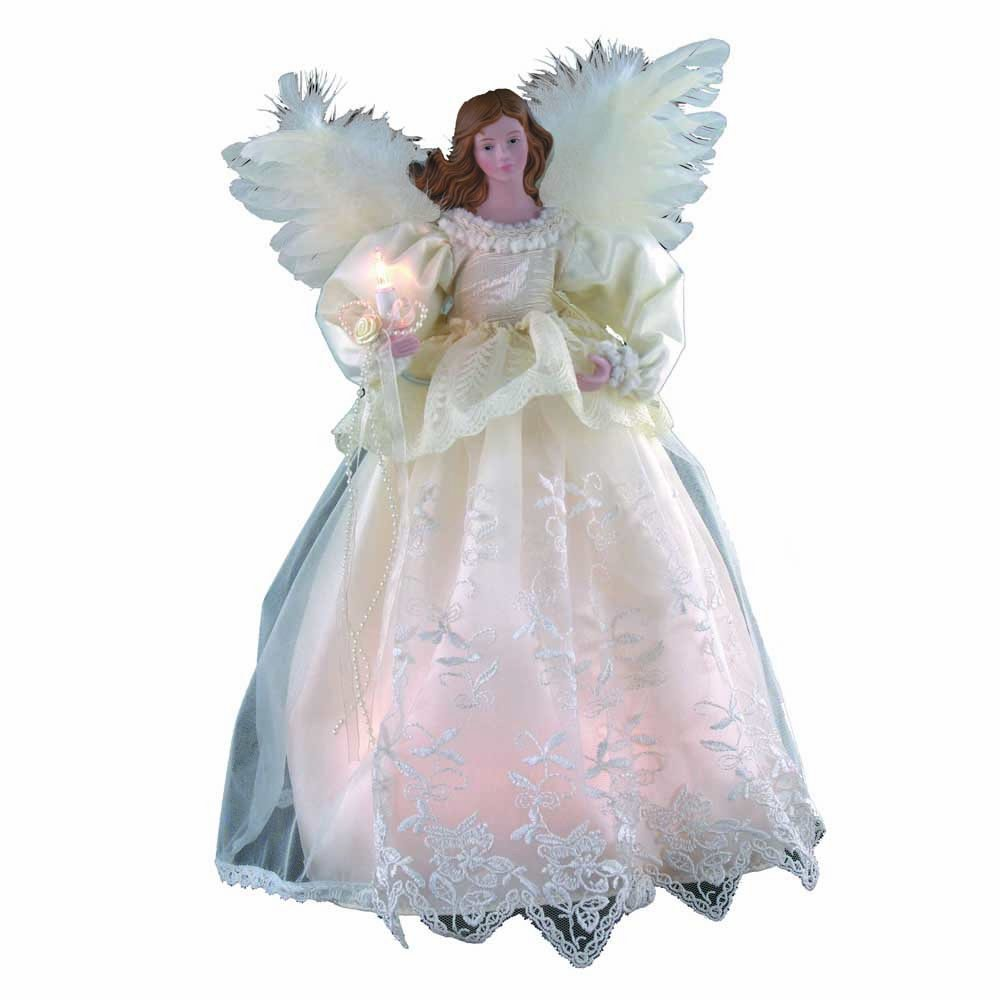 Small Angel Christmas Tree Topper: Lighted Angel Tree Toppers