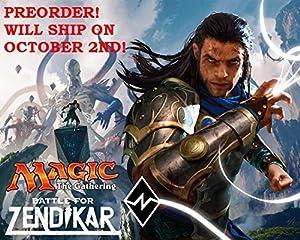 Magic the Gathering (MTG) Battle for Zendikar - Set of 5 Prerelease Kits (35 packs) - Pre-Order Ships After October 2nd