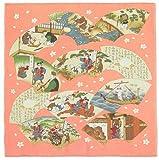 きものやさん 昔話風呂敷 桃太郎 68cm(浮世絵)