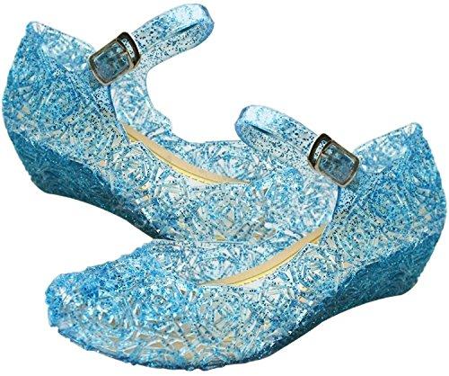 prinzessin-elsa-cinderella-absatz-schuhe-blau-kinder-glanz-weihnachten-verkleidung-karneval-party-ha