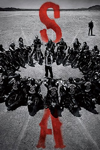 Sons Of Anarchy-Circle-Harley Davidson-POSTER 61 x 91,5 cm/POSTER ""