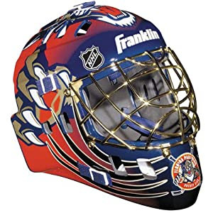 Florida Panthers Street Hockey Team Goalie Face Mask by Franklin