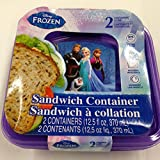 Disney Frozen Set of 2 Sandwich Containers with Lids
