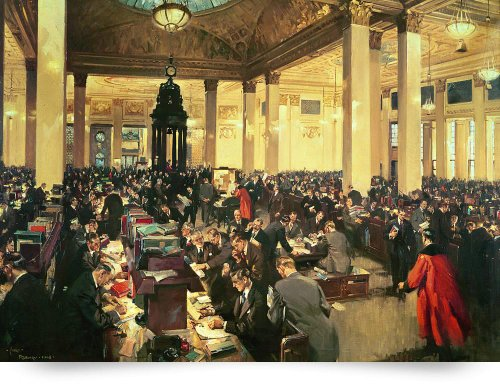 The Underwriting Room At Lloyds Of London, 1948 (Giclee Art Print), The Fine Art Masters front-975765