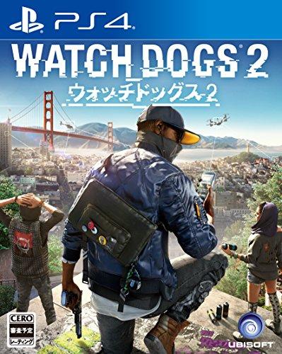 ウォッチドッグス2  初回生産限定特典「ゾディアックキラー追加ミッション」ダウンロードコード同梱 - PS4
