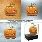 Decal Stickers Halloween Doors Motorcyc Motorbike Boat card candles candy tombstone (5 X 4,69 Inches) Fully Waterproof Printed vinyl sticker