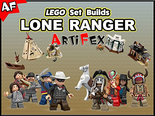 Clip: Lego Set Builds Lone Ranger - Season 1