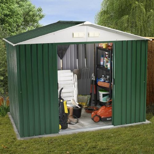 8ft x 6ft Value Metal Shed (2.61m x 1.84m)