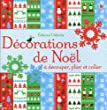 DECORATIONS NOEL DECOUPER PLIE
