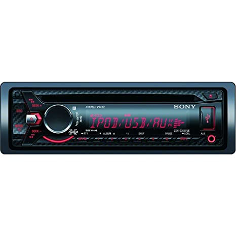 Sony CDX-G3000UV Autoradios En Façade