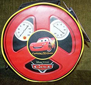 Disney's Cars Lightning McQueen Steering Wheel Lunch Box Tote