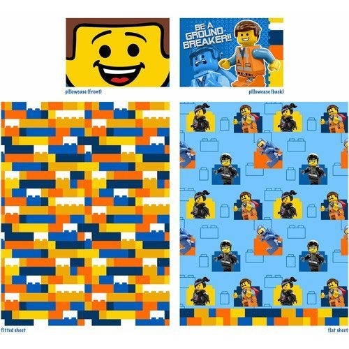 Lego The Movie Twin Sheets ( 3 Piece Set ) front-883564