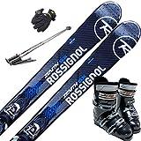 ROSSIGNOL スキー5点セット 16-17 ZENITH SX 157cm ゼロワン-26cm/ストック115cm/メンズグローブ