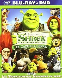 Shrek, felices para siempre (Shrek 4) [Blu-ray]