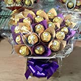 Ferrero Rocher Chocolate Bouquet - Sweet Hamper Tree...