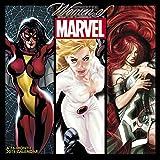 img - for Women of Marvel Wall Calendar (2016) book / textbook / text book
