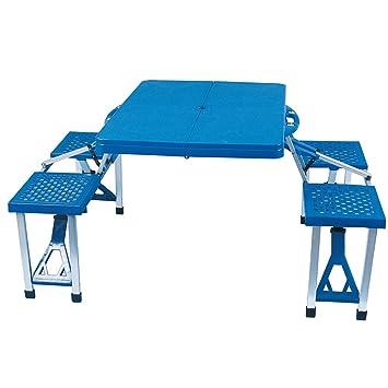 Ensemble table et chaises jardin pliant camping pique - Ensemble jardin plastique ...