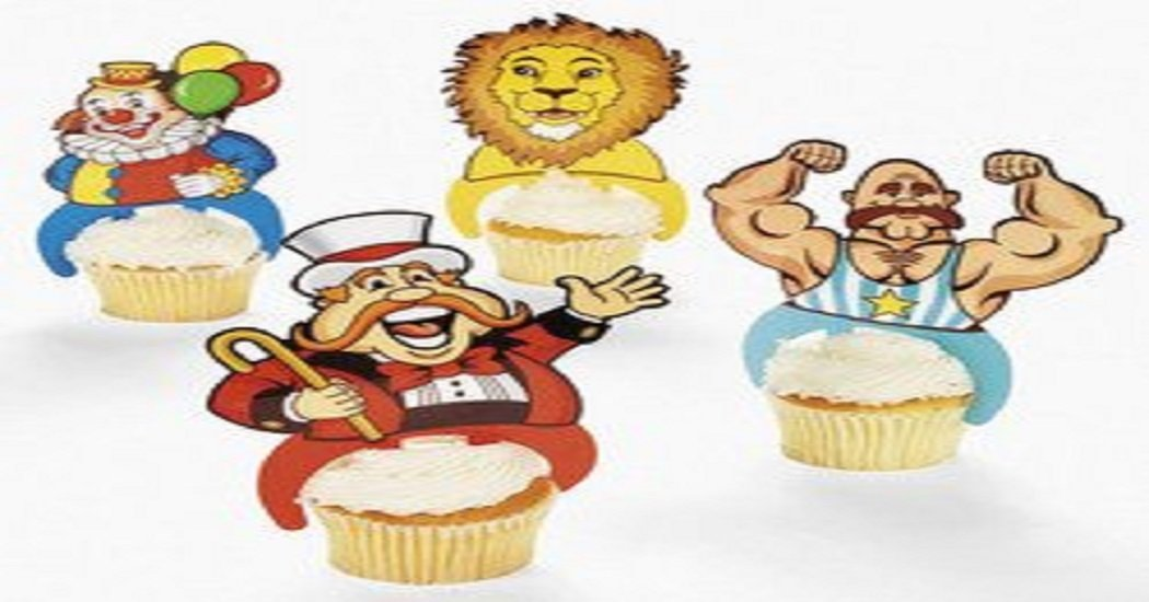 big top cupcake instructions