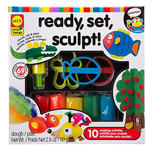 ALEX Toys Little Hands Little Hands Ready, Set, Sculpt - 1