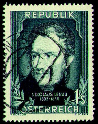 Briefmarken Österreich Nr. 975 gestempelt Lenau 1952