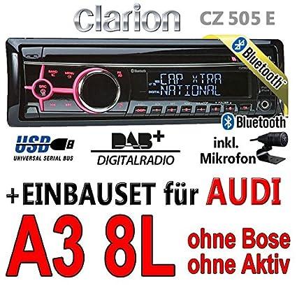 Audi a3 8L-clarion cZ505E-digital avec bluetooth/dAB
