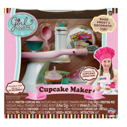Jakks Pacific Girl Gourmet Cupcake Maker