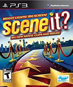 Scene It? Bright Lights! Big Screen! - French only - PlayStation 3 Standard Edition