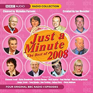 Just a Minute: The Best of 2008 | [BBC Audiobooks]