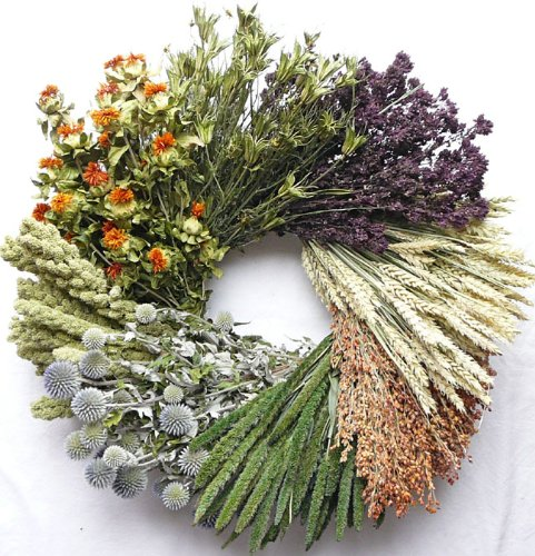 Vintage Grain Decorative Wreath