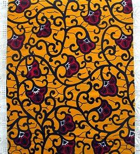 Amazon.com: Ankara Fabric- Super Wax Material For Clothing Designs