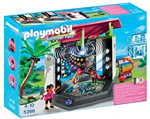 Playmobil 5266 Summer Fun Children's Club with Disco