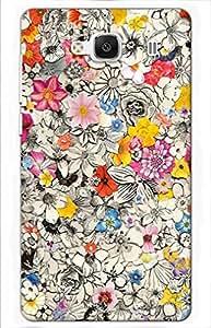 flower Designer Printed Back Case Cover for Mi Redmi 2