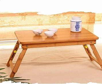 BBSLT Moda cama, tabla del ordenador portátil, escritorio fácil lazy plegable, mesa de escritorio niño