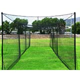 Ultimate 70' Baseball Batting Cage [Net & Poles Package] - #42 Heavy Duty Net with... by Net World Sports
