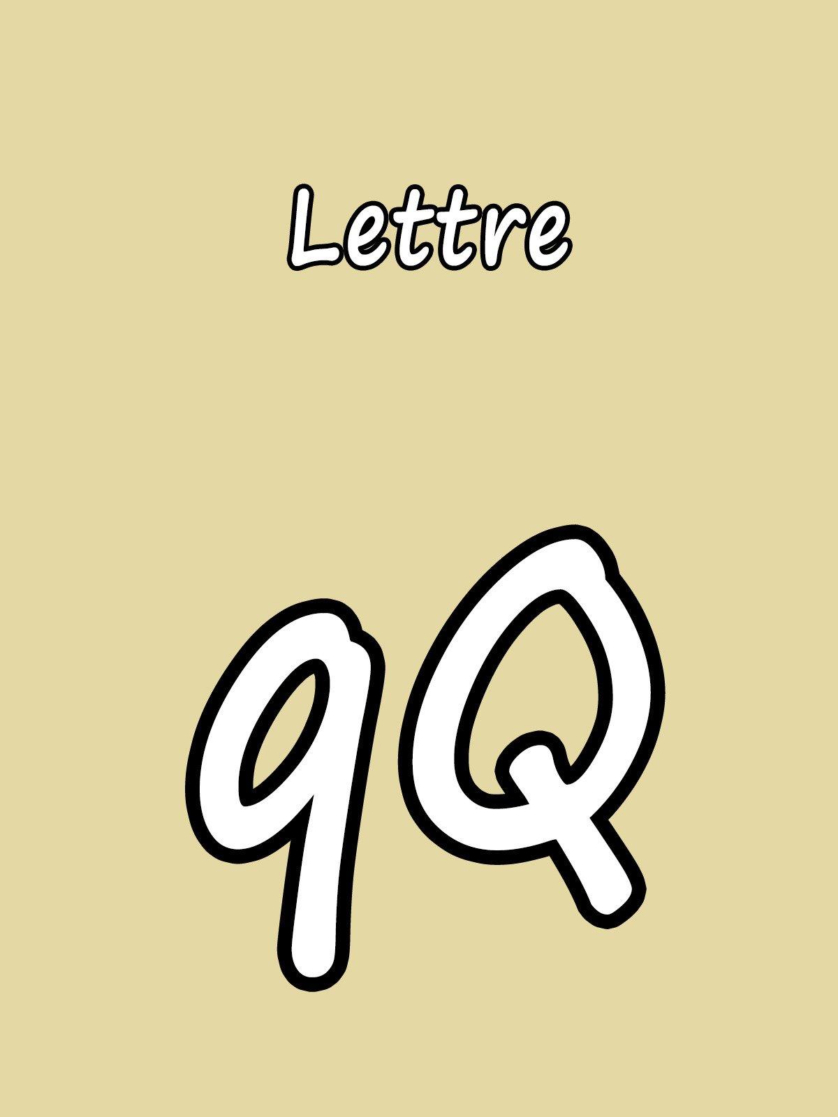 Clip: Lettre Q