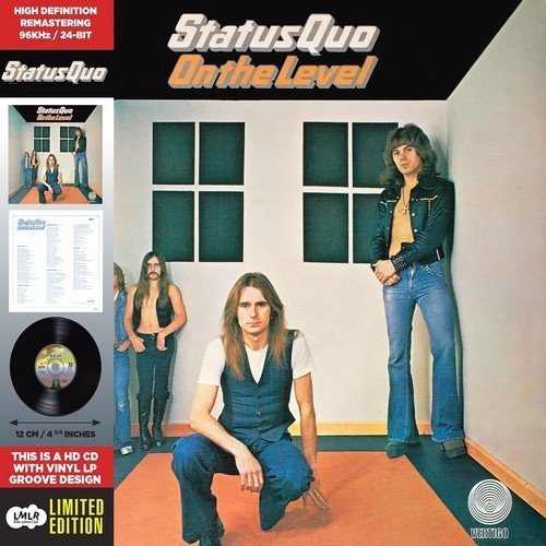 On The Level - Cardboard Sleeve - High-Definition CD Deluxe Vinyl Replica + 5 Bonus Tracks - IMPORT by Status Quo (2015-05-03)