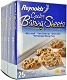 Reynolds Cookie Baking Sheets Non-Stick Parchment Paper, 100 Sheets, 4 Count