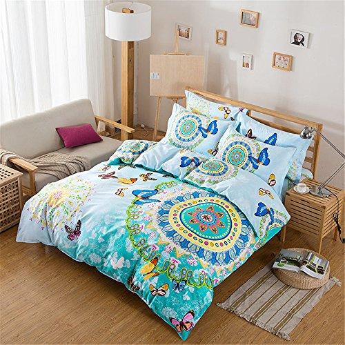 Auvoau-Home-Textileboho-Bedding-Setbohemia-Exotic-Bedding-Set4pcs-Bedding-Setgirls-duvet-cover-setkids-duvet-covertwinfull