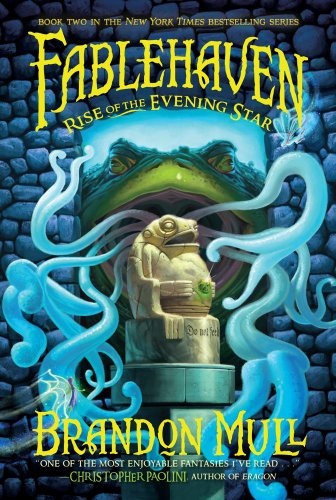 Cover of Rise of the Evening Star (Fablehaven, Book 2)
